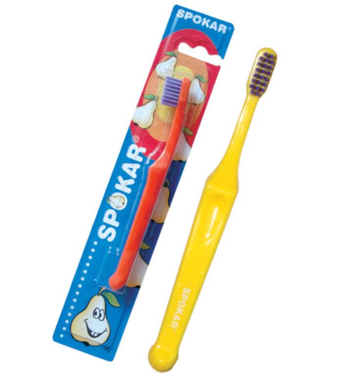 Dětský zubní kartáček SPOKAR D