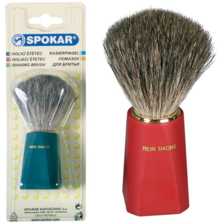 štětka holící - typ 8315/166/P jezevčí vlas