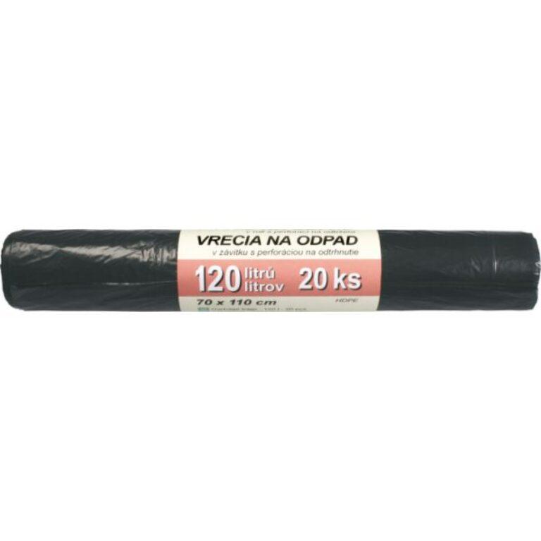 pytle na odpad 120l - HDPE černé