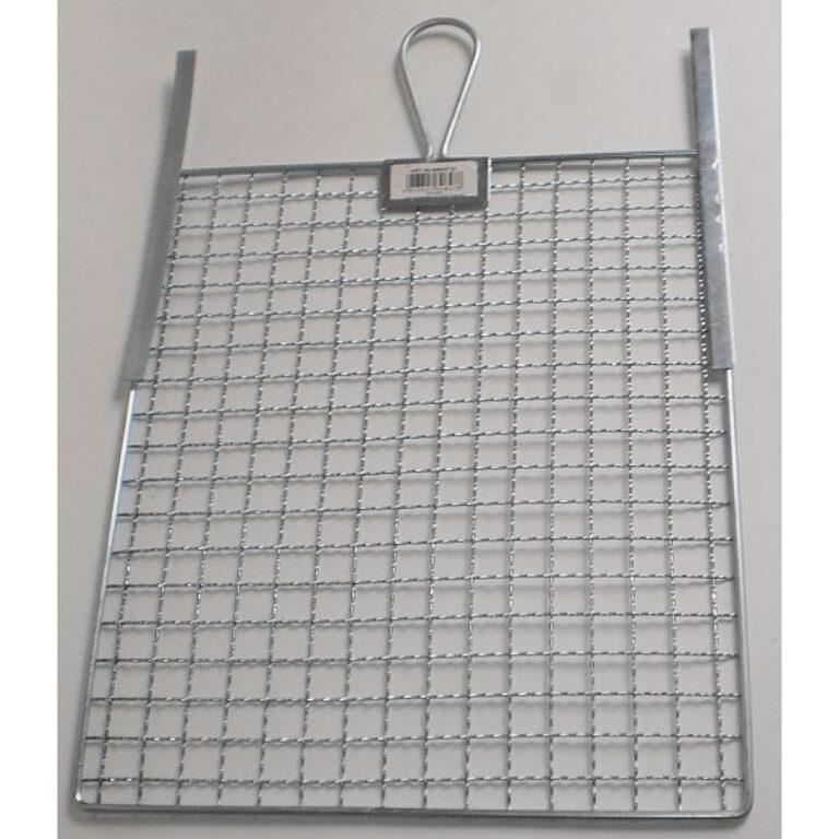 Stírací mřížka kovová 26x30 cm