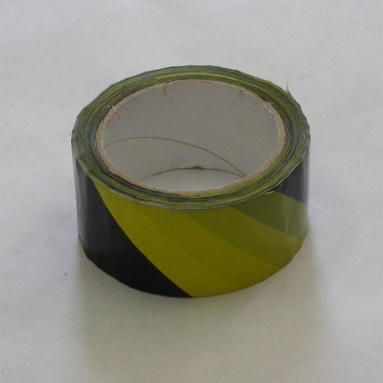 Výstražná páska 50mmx66m - levý sklon