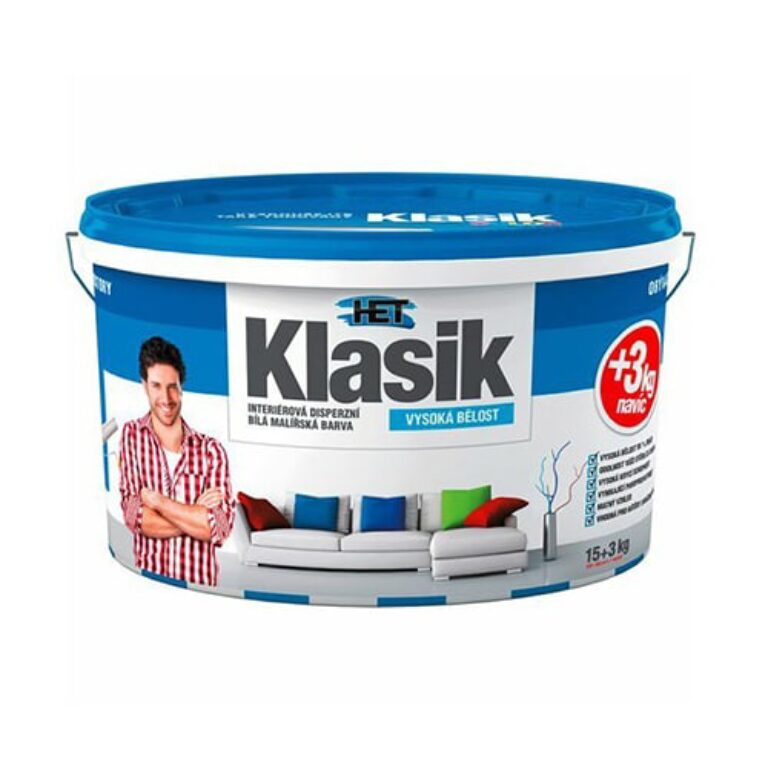 Het malířská barva Klasik 15kg + 3kg zdarma