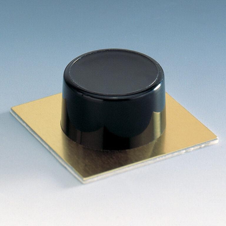 Zarážka dveří PH se zlatou podložkou 2ks - béžová