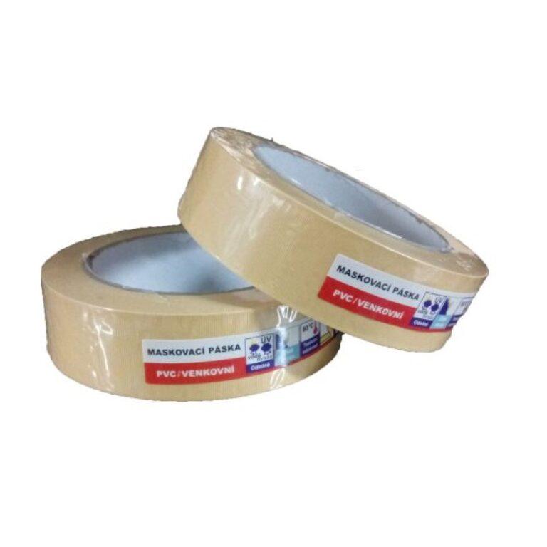 Venkovní maskovací páska PVC UV 30x33, 80°C, 7 dnů