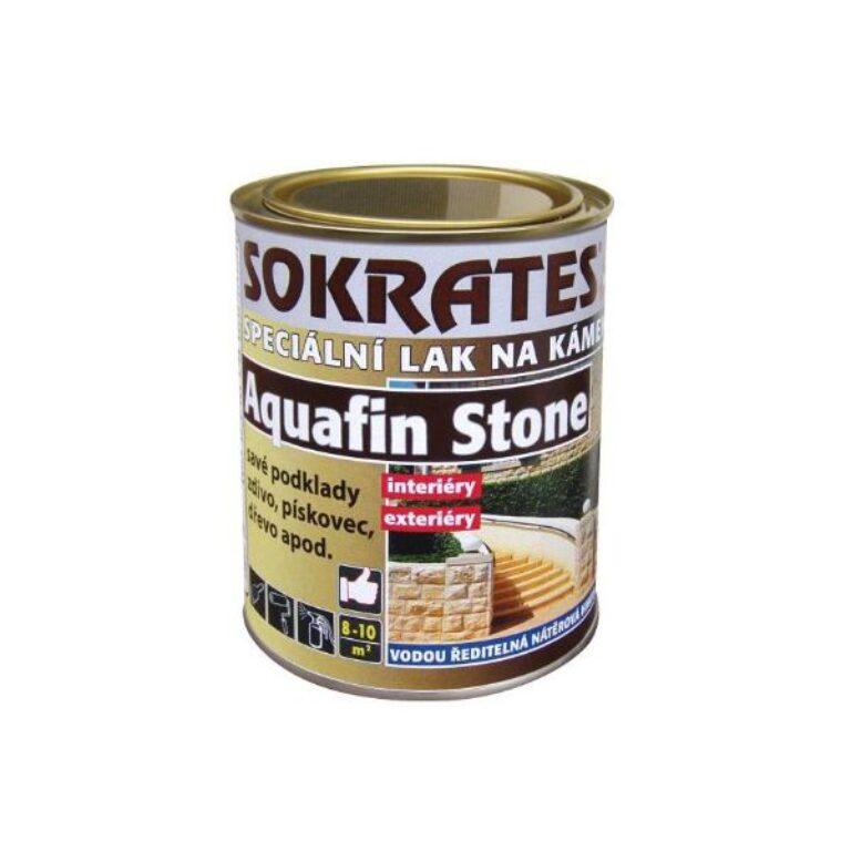 Sokrates Aquafin Stone lak na kámen polomat 0,7kg