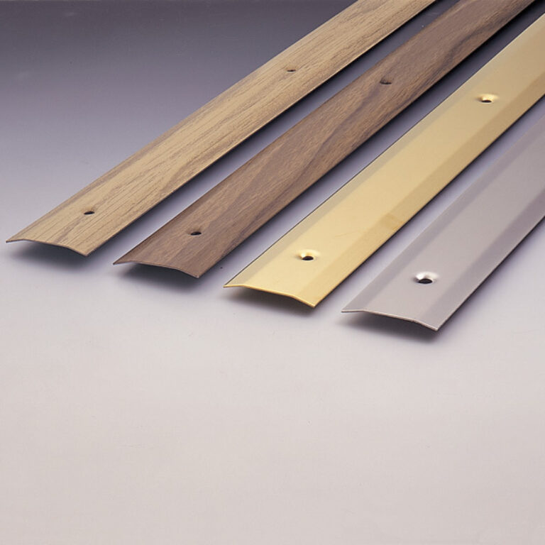 přechodová lišta 985x30x2,5mm - tmavé dřevo