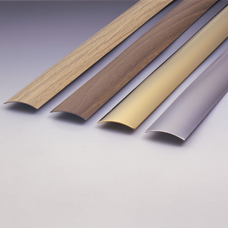 přechodová lišta 985x30x3mm - tmavé dřevo