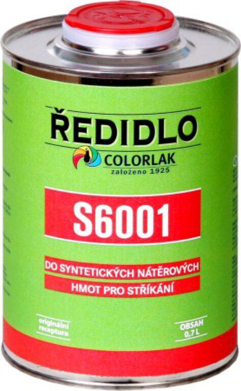 Ředidlo S6001 stříkání bezbarvý 0,7 L