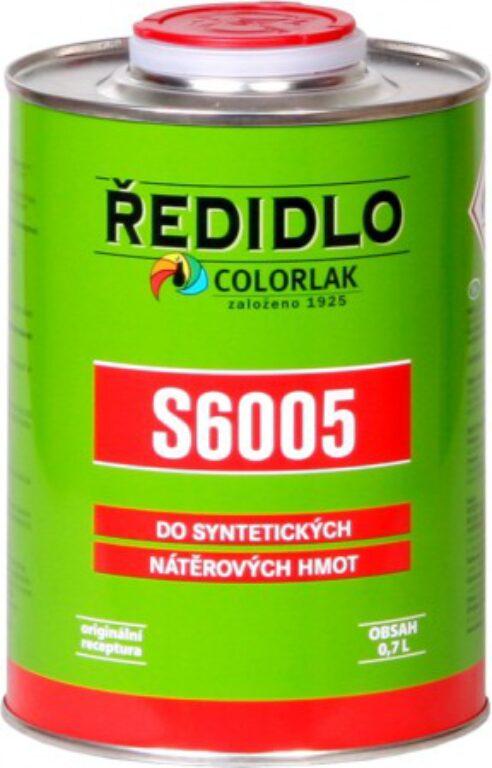 Ředidlo S6005 syntetické bezbarvé 0,7 L