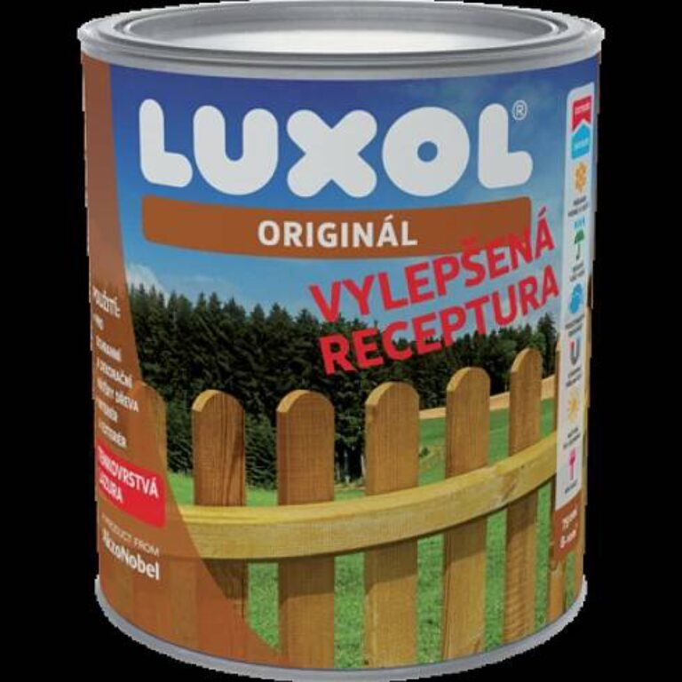 LUXOL originál mahagon 4,5L