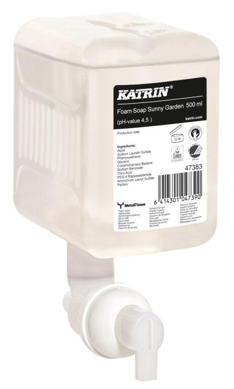 KATRIN mýdlo pěnové 500ml vůně Sunny Garden