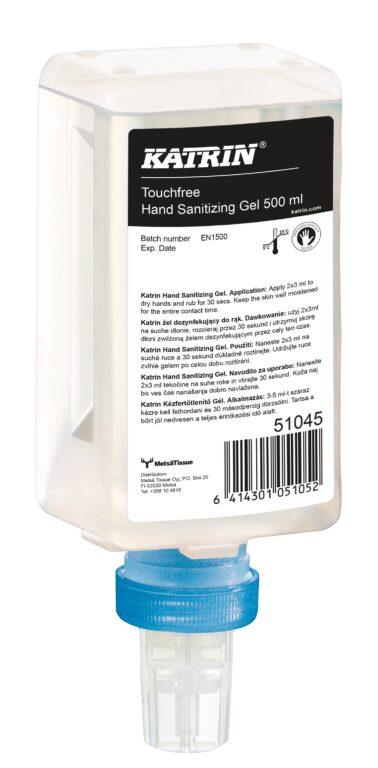 KATRIN dezinfekční gel na ruce 500ml Sanitizing