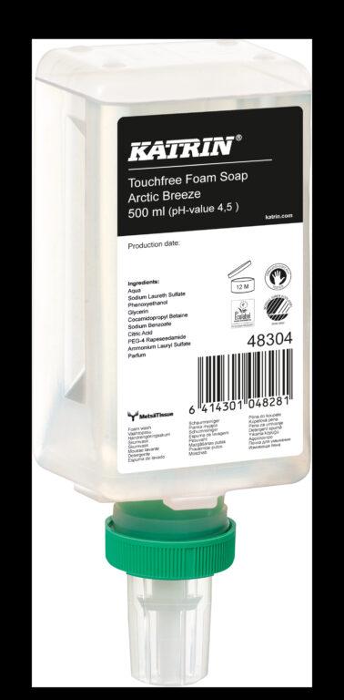 KATRIN mýdlo pěnové 500ml pro dezdotykový dávkovač vůně Arctic Breeze