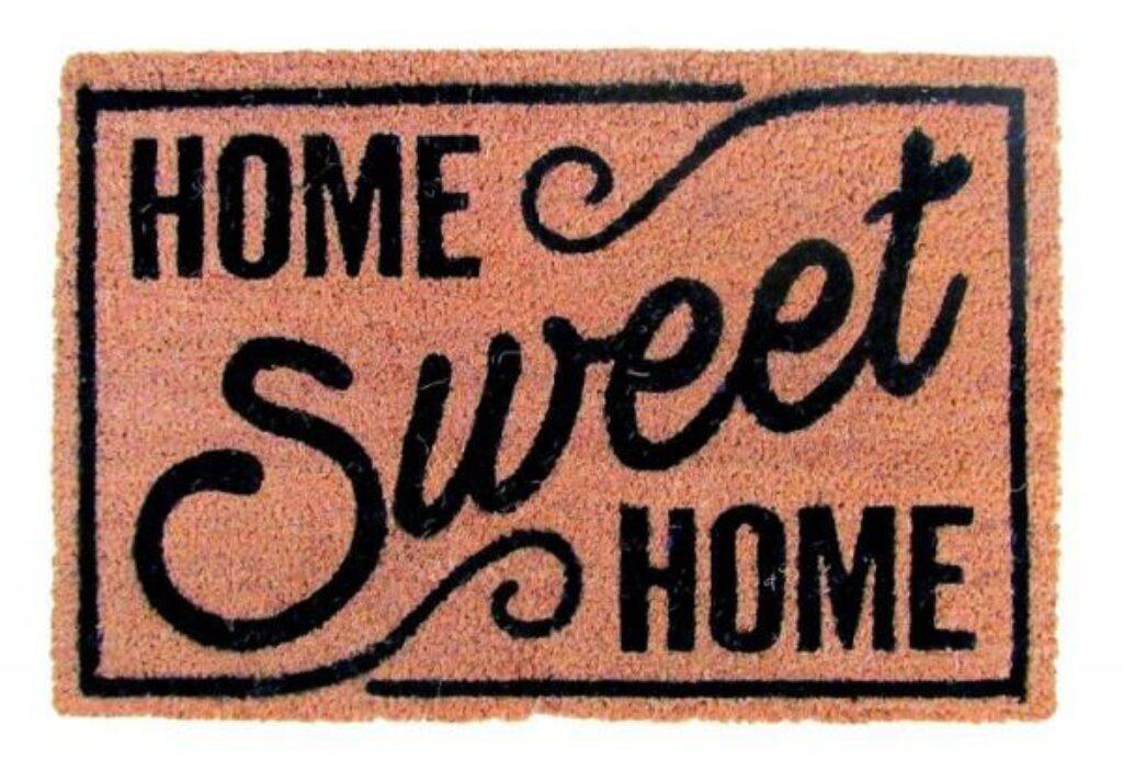 Rohož PVC + kokos 40x60cm Home Sweet
