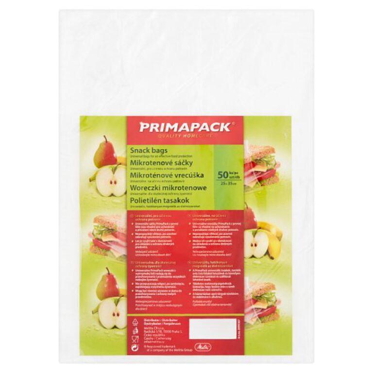 PrimaPack Mikrotenové sáčky 25x35cm 50ks