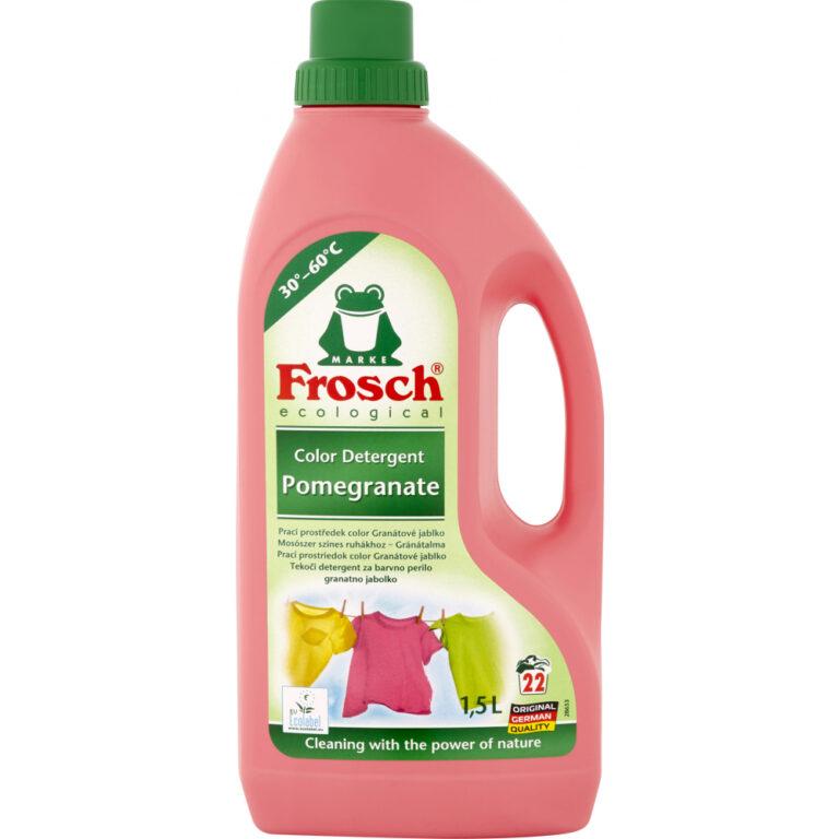 Frosch Prací prostředek Color Granátové jablko 1,5L