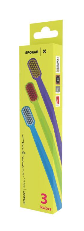 Zubní kartáček 3429 X ultrasoft, 3 pack