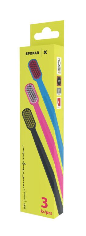 Zubní kartáček 3429 X soft, 3 pack