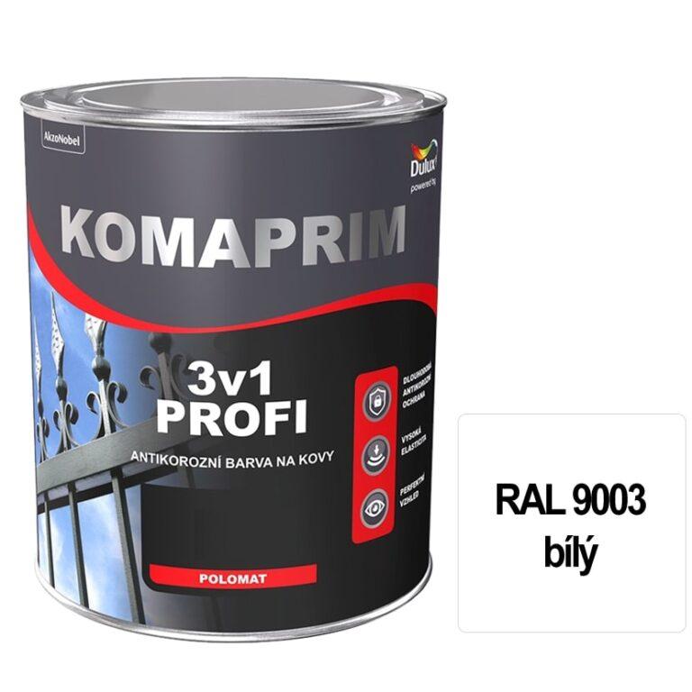 Komaprim 3v1 PROFI bílý 0,75L  RAL 9003