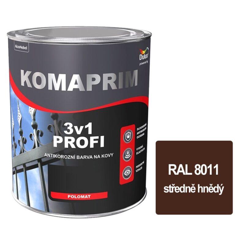 Komaprim 3v1 PROFI středně hnědý 0,75L RLA 8011