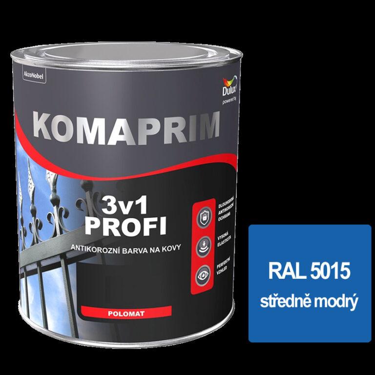 Komaprim 3v1 PROFI středně modrý  0,75L  RAL 5015