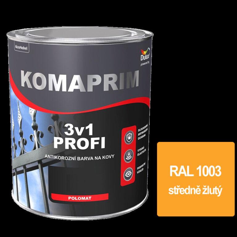Komaprim 3v1 PROFI středně žlutý 0,75L  RAL 1003