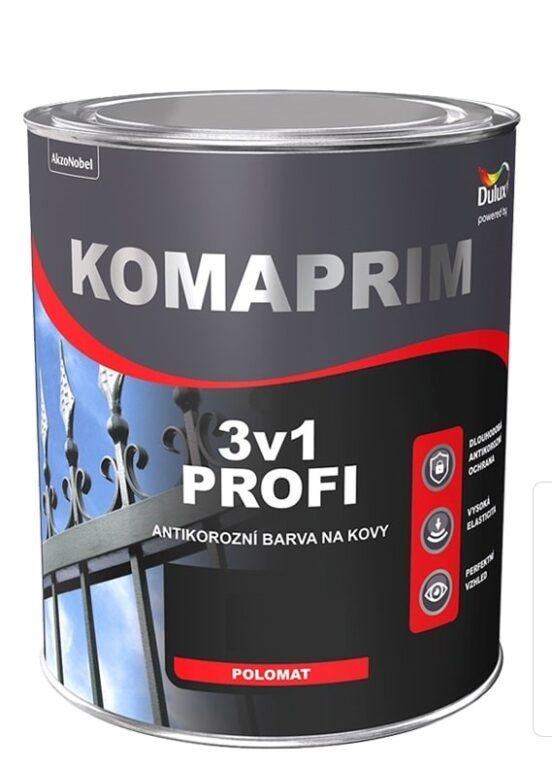 Komaprim 3v1 PROFI červeň rumělková 0,75L