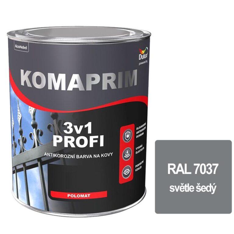 Komaprim 3v1 PROFI světle šedý 2,5L RAL 7037