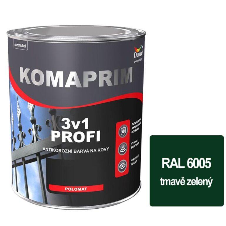 Komaprim 3v1 PROFI  tmavě zelený 0,75L  RAL 6005