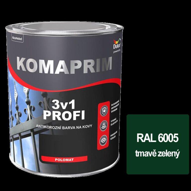 Komaprim 3v1 PROFI tmavě zelený 2,5L  RAL 6005