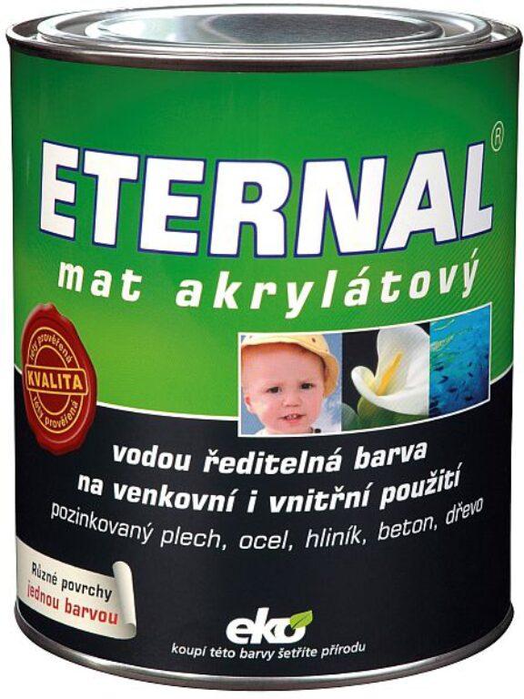 ETERNAL mat akrylátový 0,7kg  antracit 04 A