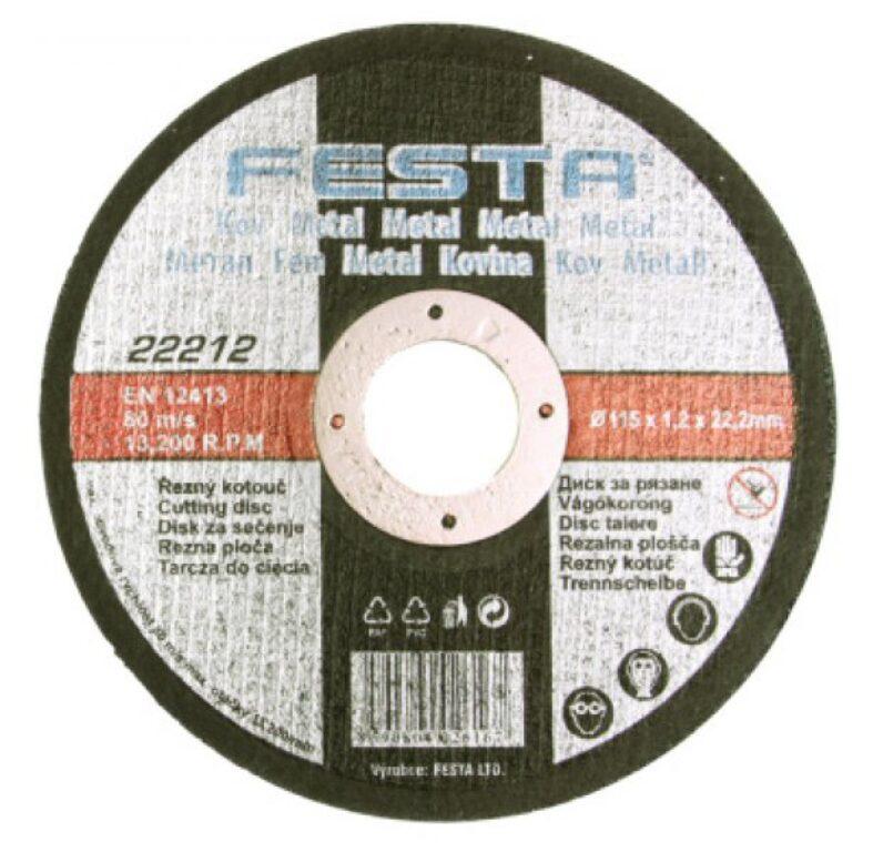 Kotouč řezný FESTA na kov 150x1,2x22,2mm