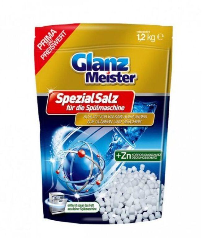 Glanz Meister sůl do myčky tablet. 1,2kg
