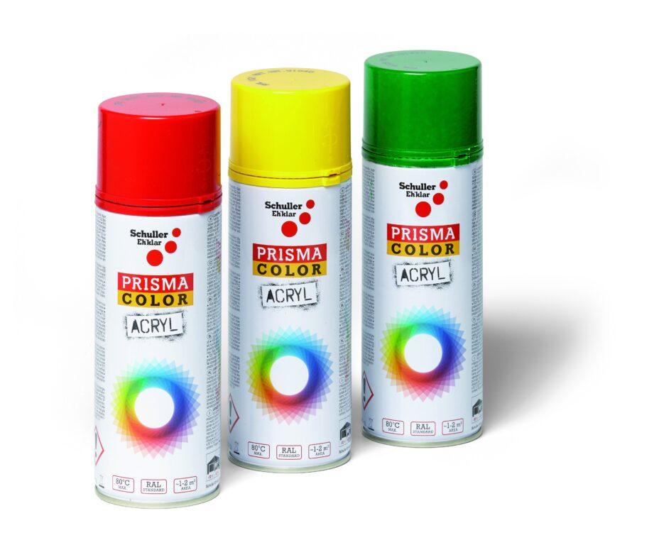 Sprej Prisma Color 400ml, RAL 3001 červený signální
