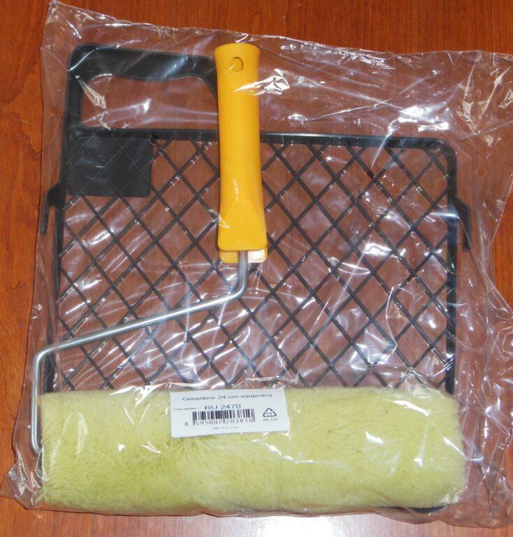Sada Greenline malířská 24cm, držák 6mm, mřížka, polyakryl