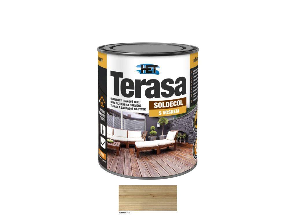 SOLDECOL TERASA ST 60 - ořech 0,75 l