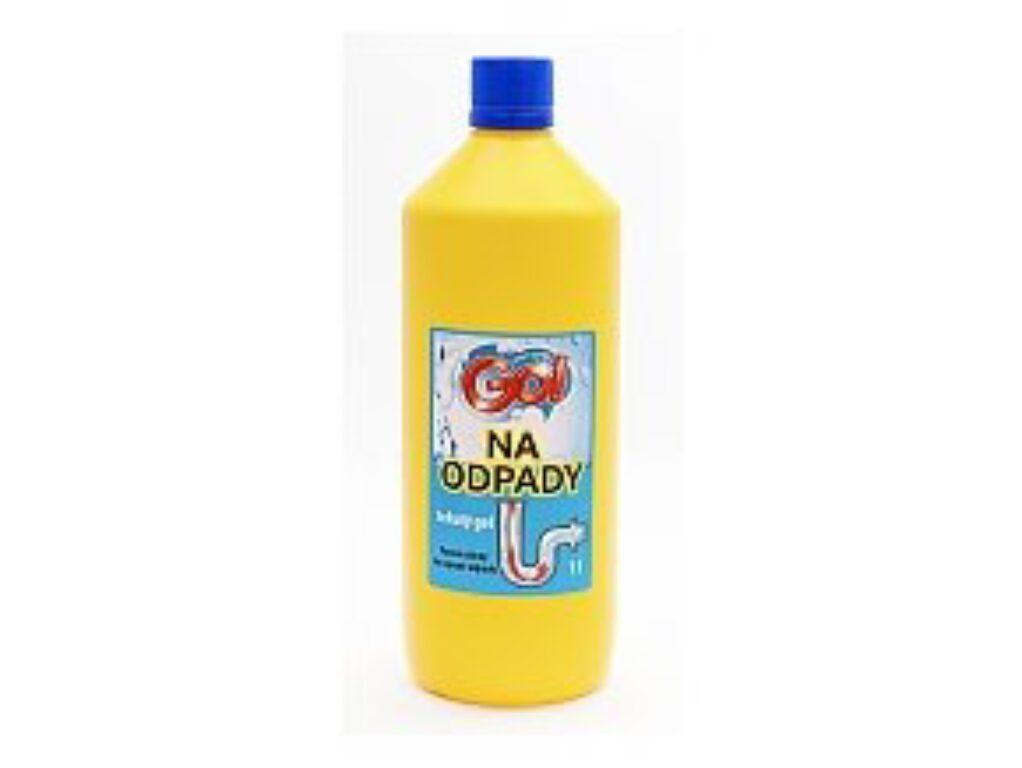 GO tekutý gel na čištění odpadů 1l