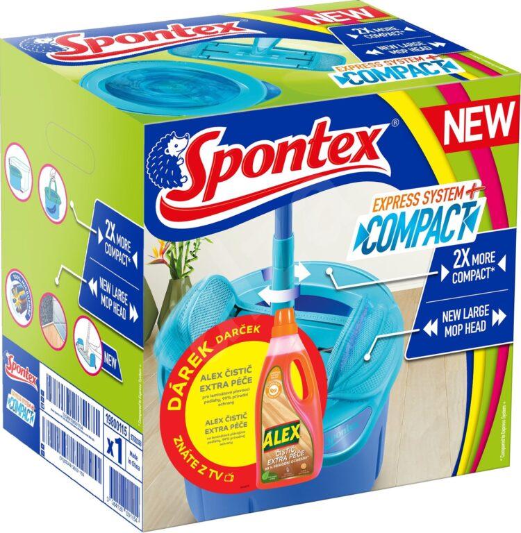 Spontex Express system + COMPACT + ALEX 1l ZDARMA      A