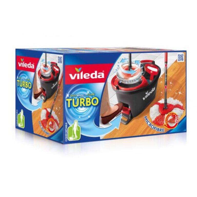 VILEDA Easy wring and clean TURBO mopová souprava + Frosch zdarma    A