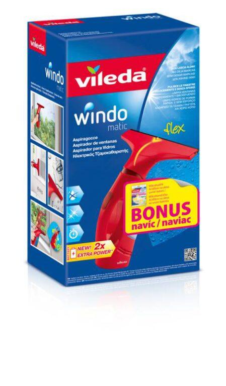 Vindomatic čistič- vysavač na okna