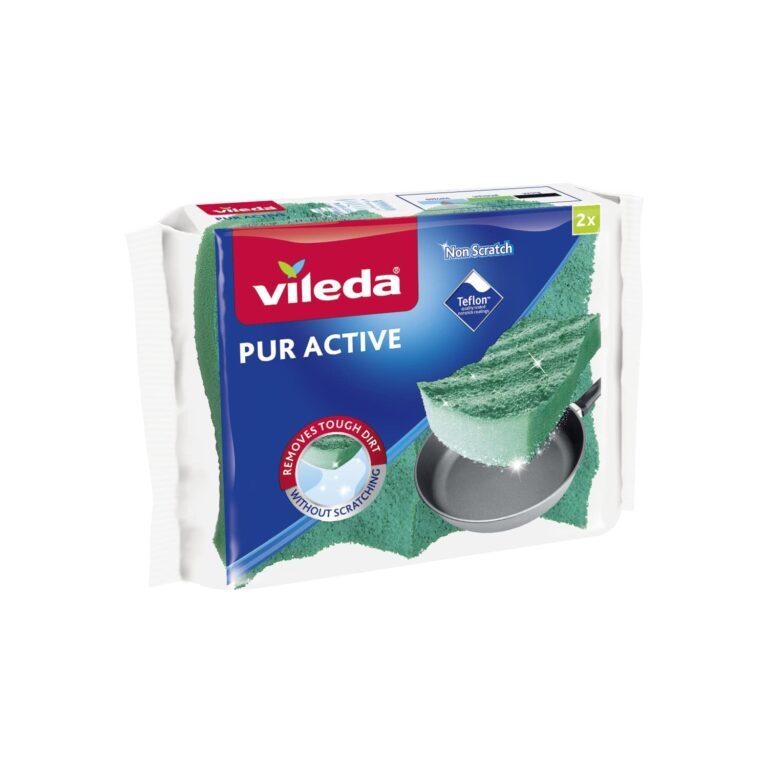 Vileda PUR active houbička střední 2ks