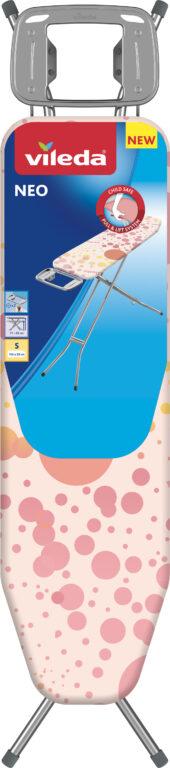 VILEDA žehlící prkno Neo 114x33cm  růžové
