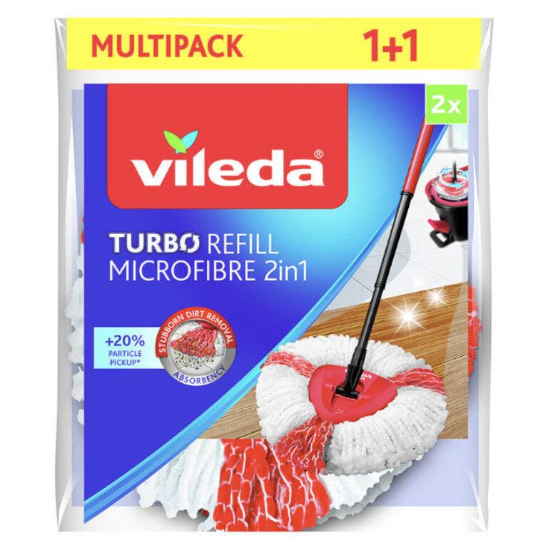 Vileda Easy wring and clean Turbo 2v1 náhrada 2ks    A