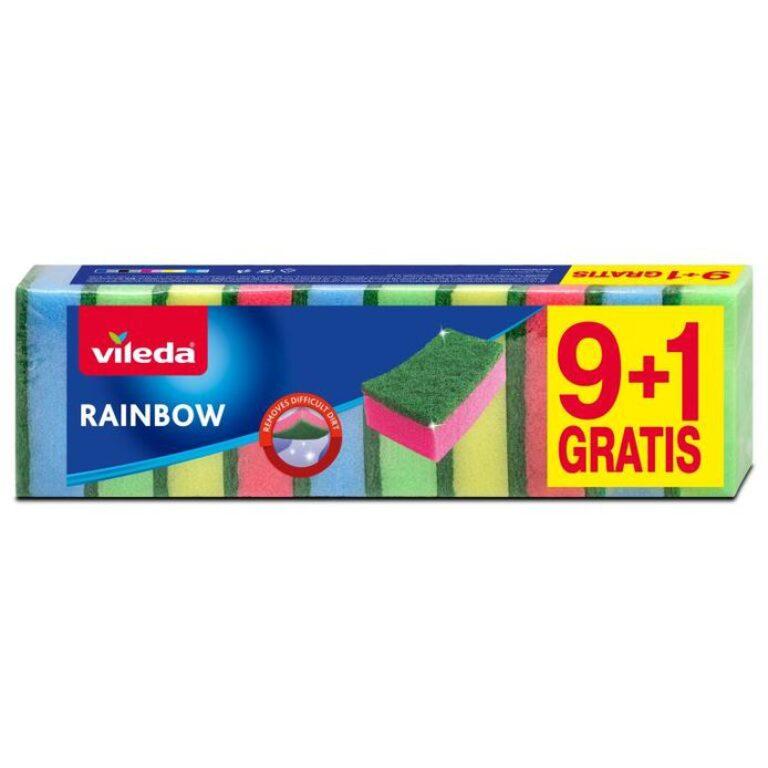 Vileda Rainbow houbičky 9+1ks