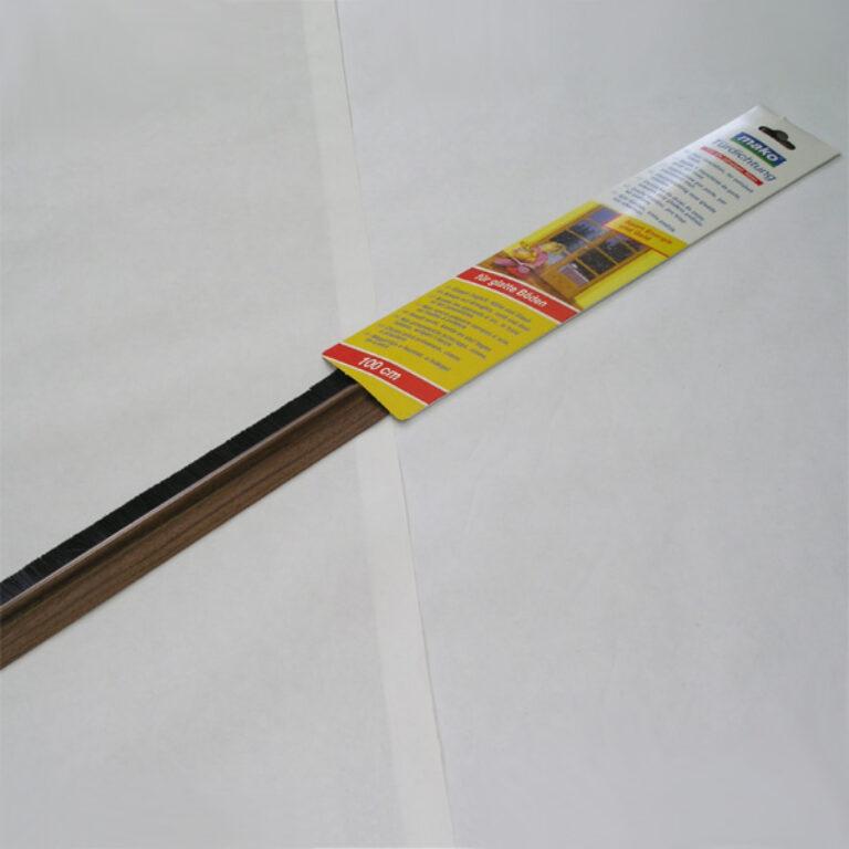 Lišta dv.těs.kartáčová 102cm/O
