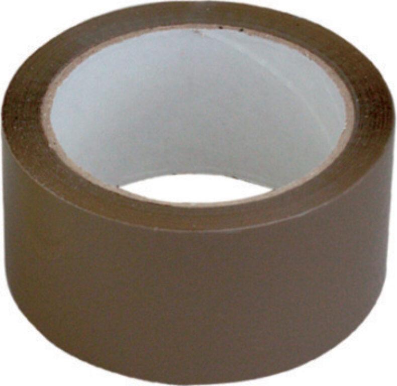 Balící páska 75mmx66m-hnědá