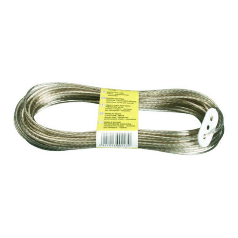 šňůra prádelní s ocelovým lankem 20m