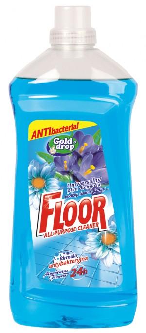 Floor univerzální mycí prostředek 1500ml hory modrý