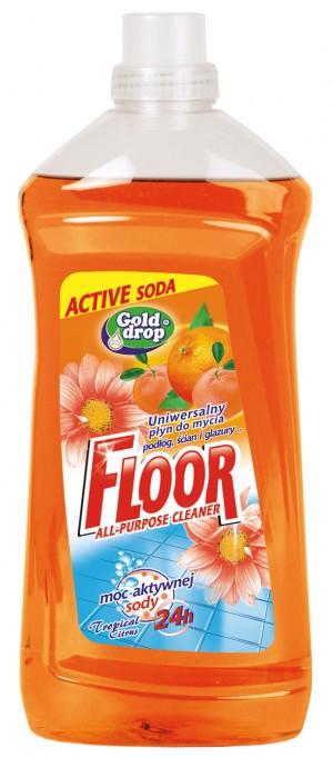 Floor univerzální mycí prostředek 1500ml soda oranž.