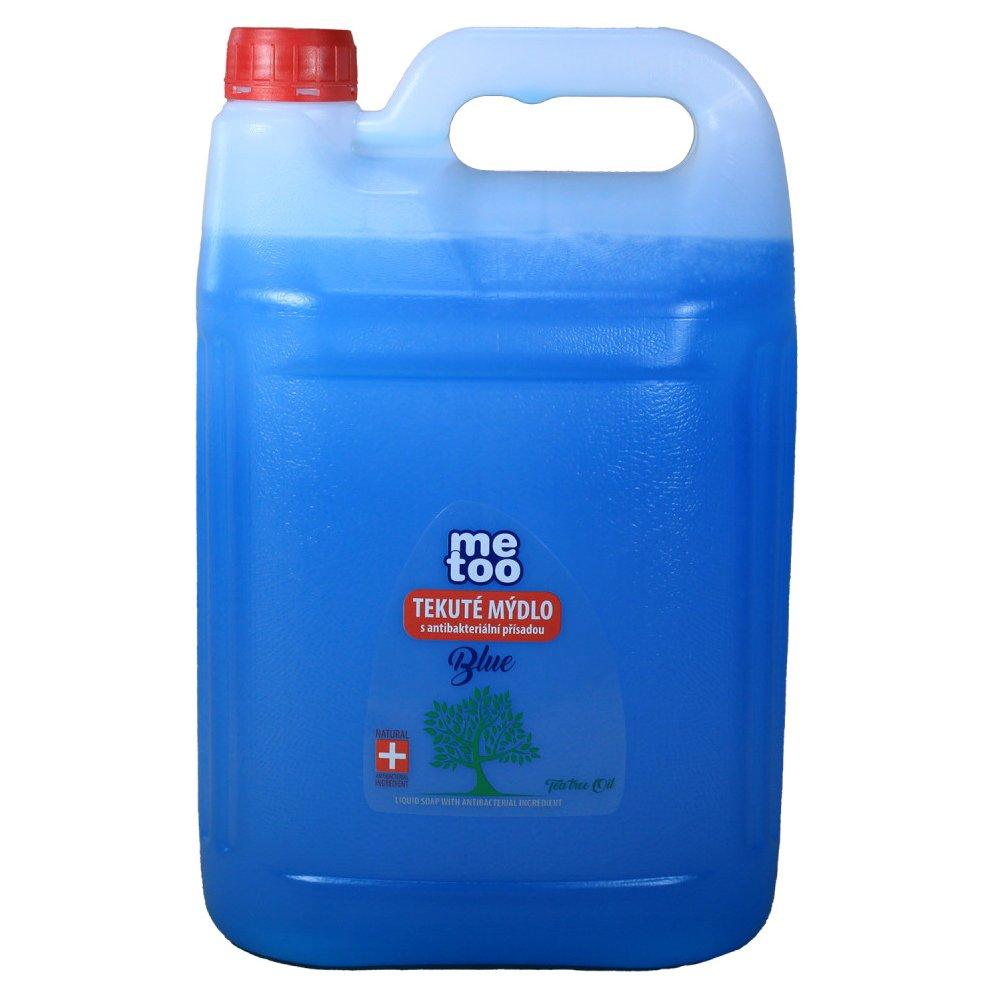 Mýdlo tekuté s antibakteriální složkou Me Too blue 5l